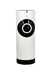 Недорогие -185 градусов широкоугольный wi-fi смарт-камера 720p беспроводной сети мониторинга мобильного удаленного монитора HD