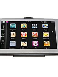 Недорогие -7-дюймовый HD автомобильный GPS-навигаторы 256 МБ / 8 ГБ навигаторы Fm MP3 / MP4 плееры карта Европы