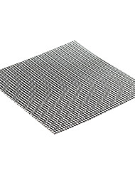 cheap -Black Non Stick BBQ Mesh Grill Mat Cooking Sheet Barbecue Baking Microwave Oven Tools