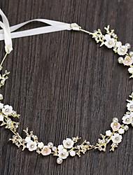 cheap -Alloy Hair Accessory with Flower 1 Piece Wedding / Housewarming Headpiece