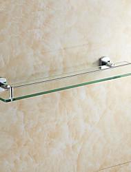 Недорогие -Полка для ванной Креатив Modern стекло 1шт - Ванная комната На стену