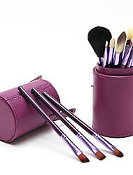abordables -Professionnel Pinceaux à maquillage 12 pcs Professionnel Doux Couvrant Bois / bambou pour Set de maquillage Accessoires de Maquillage Bronzeurs Pinceaux de Maquillage Pinceau Fard à Joues Pinceau
