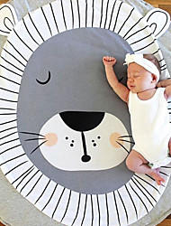 cheap -Newborn infant animal climbing carpet baby play mats soft sleeping mat cotton deer Lion Fox Indoor Playing Toys Decoration Gift