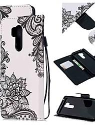 cheap -Case For LG LG Q Stylus / LG StyLo 3 / LG Stylo 4 Wallet / Card Holder / Shockproof Full Body Cases Flower PU Leather
