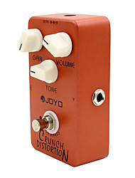 Недорогие -гитарные эффекты Joyo JF-03 хруст искажения электрическая гитара педаль эффекта гитара аксессуары частей эффект