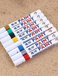 Недорогие -водонепроницаемая перманентная ручка автомобильная шина протектор шины cd краска маркеры граффити жирная маркер