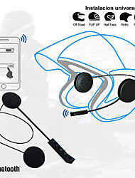 cheap -LITBest BT8 Motorcycle Hat Telephone & Driving Headset Wireless Mobile Phone Bluetooth 4.0 with Volume Control