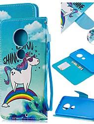 cheap -Case For Motorola MOTO G6 / Moto G6 Plus / Moto G7 Wallet / Card Holder / Shockproof Full Body Cases Cartoon PU Leather