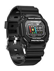 Недорогие -x12 умные часы мужчины 0.96 дюймов ip68 водонепроницаемый спорт smartwatch активность трекер пассометр умные часы для ios andriod