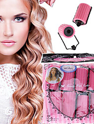 cheap -8 Pcs Curler Makers Nighttime Soft Bendy Twist Curls DIY Styling Soft Foam Hair Rollers