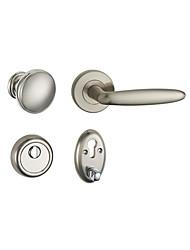 cheap -ZS-03 Door Levers Mechanical key Zinc Alloy