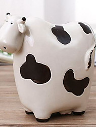 cheap -Piggy Bank / Money Bank Cow Cartoon Cute PVC (Polyvinylchlorid) 1 pcs Kid's Teenager Boys' Girls' Toy Gift