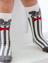 cheap -Baby Children Cute Cartoon Breathable Cotton Socks Sweat Absorbent Casual Long Stockings