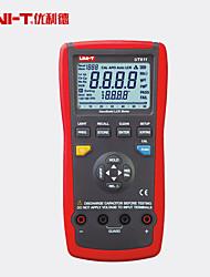 Недорогие -uni-t ut611 lcr цифровой измеритель индуктивность емкость тестер частоты 6000 отсчет мультиметр аналоговый бар l / c / r / dcr / q / d / esr мера