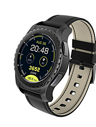 cheap -KW28 Smartwatch Phone 2G MTK2502 1.3 Heart Rate Monitor Anti-Lost Smart Watch Remote Camera Support TF Card