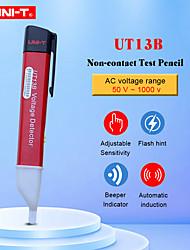 Недорогие -бесконтактные датчики напряжения переменного тока uni-t ut13b регулируемая чувствительность 50-1000 В электрический тестовый карандаш