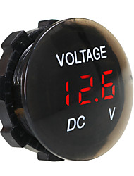 cheap -DC12V Waterproof and Dustproof Voltmeter Digital Display for Truck Car Motorcycle SUV