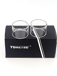 abordables -Tube en verre de rechange Yuhetec pour Aspire Nautilus x 2ml 2pcs