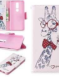 cheap -Case For Nokia 4.2/Nokia 3.2 Magnetic / Flip / with Stand Full Body Cases Animal Hard PU Leather for Nokia 1 Plus/Nokia 2/Nokia 2.1/Nokia 3.1/Nokia 5.1/Nokia 7.1/Nokia 8/Nokia 6