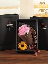 Недорогие -Искусственные цветы Недвижимость сенсорный Свадебные цветы Букет Букеты на стол Букет 7