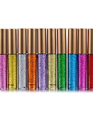 Недорогие -10 цветов Тени Тени для век На открытом воздухе Pro Прост в применении Ультралегкий (UL) Офис Повседневный макияж косметический Подарок