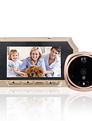 cheap -4.3-inch high-definition intelligent electronic cat's eye doorbell body sensing night vision video camera ringing optional