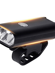 cheap -LED Bike Light Front Bike Light Bicycle Cycling Waterproof Super Brightest Wide Angle 400 lm Rechargeable USB White Cycling / Bike / IPX 6