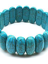 cheap -Women's Bracelet Retro Lucky Boho Stone Bracelet Jewelry Blue / Dark Red For Gift Daily Street Holiday Festival