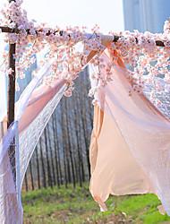 Недорогие -1.8 м / 5.9 футов искусственный вишневый цвет ротанга венок ну вечеринку свадебный декор свадебный цветок дом декор