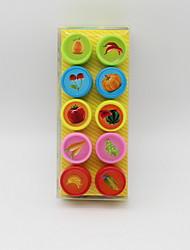 Недорогие -Пластиковый корпус 1# / 2# / 3# 1 комплект Stamper & Scraper 2.5*2.5*3.4 cm