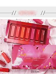 abordables -7 pcs 7 couleurs Maquillage Quotidien Kits / Homme / Transport Facile Humide Longue Durée / Girlfriend cadeaux / Décontracté / Quotidien Brillant & Séduisant / Mode Maquillage Cosmétique Accessoires
