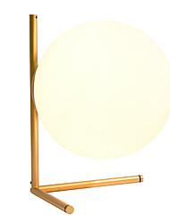 Недорогие -постмодерн индивидуальный стеклянный шар настольная лампа дизайнер гостиная металлическая