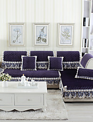 cheap -Sofa Cushion Plants Embossed Wool Flannel Slipcovers
