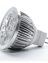 cheap -1pc 12 W LED Spotlight MR16 MR16 4 LED Beads Dimmable Warm White 12 V