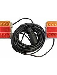 Недорогие -Мотоциклетные лампочки светодиодные рабочие фары красный оранжевый для универсальных / мотоциклов все годы
