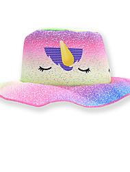 cheap -Kids Girls' Sweet Cartoon Spandex Hats & Caps Blushing Pink One-Size