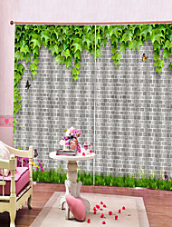 cheap -Contemporary 3D High Definition Printing Home Decoration Thickening Multifunctional Curtain Waterproof and Mildew-proof Bath Curtain Bedroom Living Room Shade and Sound-proof Curtain