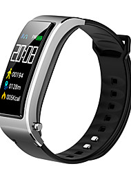 cheap -MJ27 new smart color screen call bracelet two in one smart bracelet one button to enable Siri voice assistant