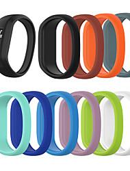 abordables -pour garmin vivofit jr / jr 2/3 bandes de silicone extensibles bandes de montre de remplacement pour enfants garçons filles petite taille