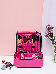cheap -Professional Waterproof Large Makeup Bag Cosmetic Case Storage Handle Organizer Travel Kit