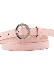 cheap -Women's Active / Basic / Cute Skinny Belt - Polka Dot / Color Block