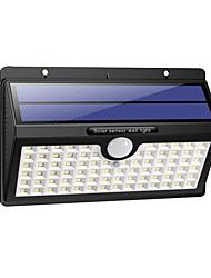 cheap -BRELONG Outdoor Solar Light HETP Upgrade 78 LED Solar Motion Sensor Waterproof Wireless Wall Lamp