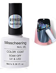 cheap -Nail Foil Adhesive Glue 8ml Starry Sky Sticker Transfer Glue Nail Art Accessory NO NEED CURING UV Lamp