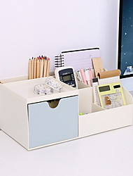 cheap -Wooden Creative Home Organization, 2pcs Desktop Organizers