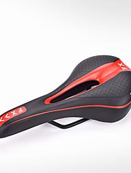 Недорогие -Седло для велосипеда Дышащий Комфорт Подушка Полый дизайн Углеродистая сталь силикагель Пена с памятью Велоспорт Шоссейный велосипед Горный велосипед Велосипеды для активного отдыха / Толстые