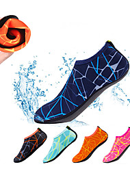 cheap -Water Socks Aqua Socks Polyester Swimming Diving Snorkeling Water Sports - Anti-Slip for Adults
