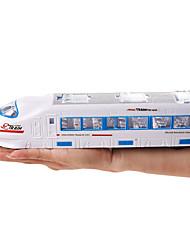 Недорогие -Игрушечные поезда и наборы Поезд Шлейф Мерцание Декомпрессионные игрушки Пластиковые & Металл Пластиковый корпус Детские Все Игрушки Подарок