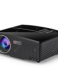 cheap -GP80 LCD LED Projector 1080P HD 1800 Lumens Mini Portable Projector for Home Theater Cinema Supprot 1080P USB HDMI