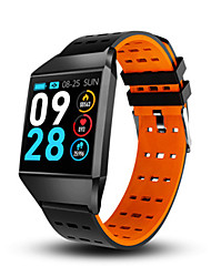 cheap -W1C Smartwatch Bluetooth Fitness Tracker Support Notify/ Heart Rate Monitor Sports Smart watch for Samsung/ Iphone/ Android Phones