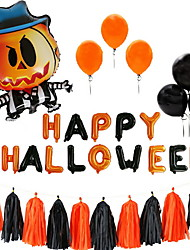 cheap -Holiday Decorations Holidays & Greeting Halloween Entertaining Party Black 10pcs